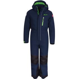 TROLLKIDS Isfjord Combinaison de ski Enfant, navy